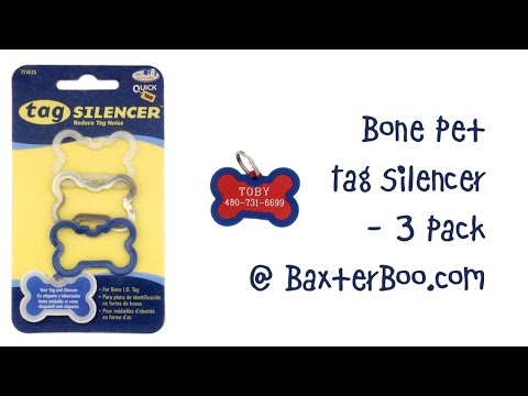 Bone Pet Tag Silencer 3 Pack Youtube