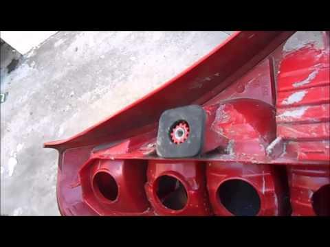 design de qualité grandes variétés Conception innovante changement masse et platine feu arrière clio 2 X - YouTube