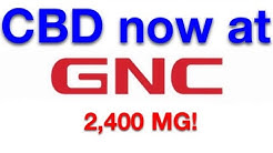 CBD Oil Now at GNC!