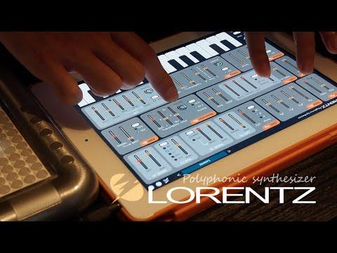 LORENTZ Polyphonic Synthesizer -  Live performance