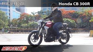 Honda CB 300R Review Better than BMW G310R? | Hindi | MotorOctane