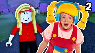 Roblox | Work At A Pizza Place With Mary EP2 | Mother Goose Club Let's Play