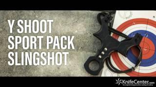 Y Shoot Sport Pack Slingshot