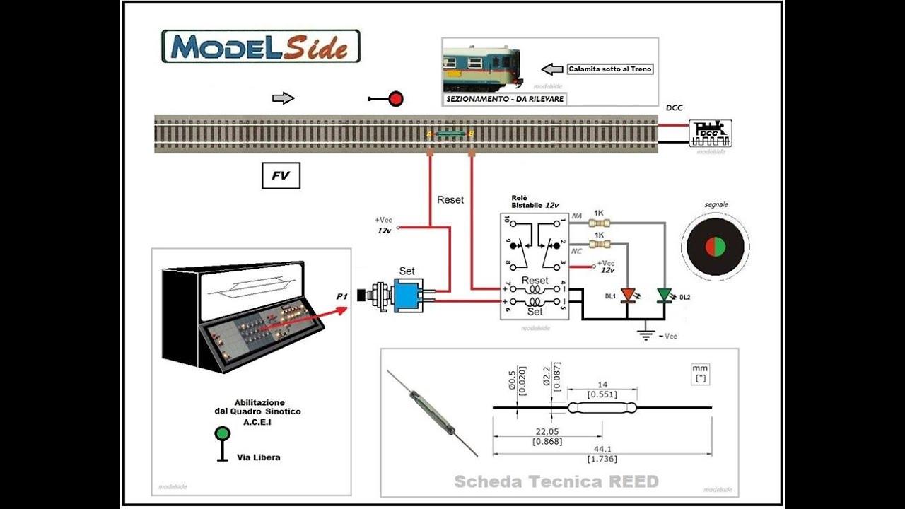 Schemi Elettrici Per Trenini : Schemi elettrici per modellismo ferroviario