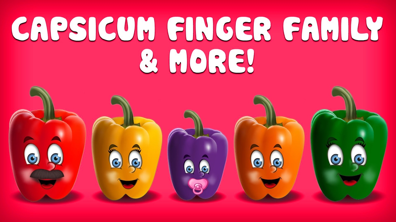 Capsicum Finger Family Collection | Finger Family Songs