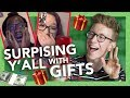 Surprising Fans with Gifts (& Holiday Giveaway!)