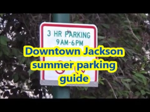 Downtown Jackson, Wyoming parking guide