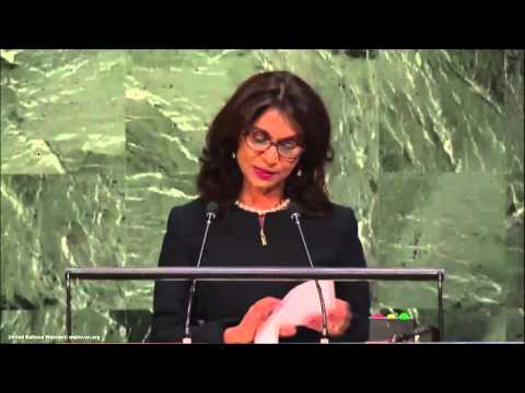 UN Speeches:  Suriname Minister for Foreign Affairs Niermala
