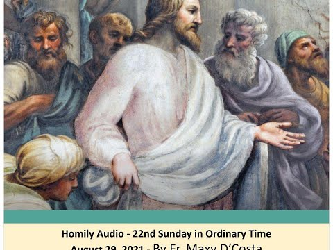 Aug. 29, 2021 - Save Our Souls - Fr. Maxy D'Costa