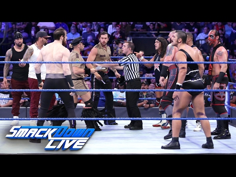 SmackDown Tag Team Champions American Alpha issue an Open Challenge: SmackDown LIVE, Jan. 31, 2017