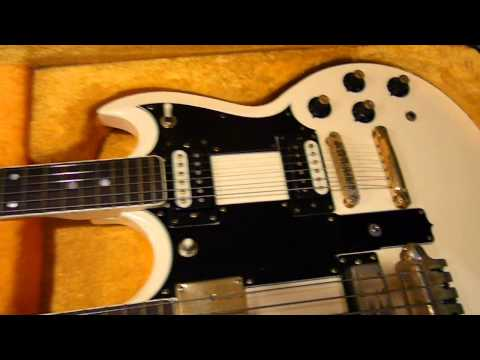 ibanez 2404 doubleneck guitar bass over six string electric pre-1976 pre-serial number