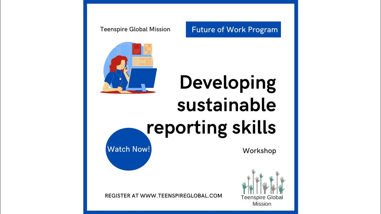 Future of Work: Developing a sustainability reporting plan