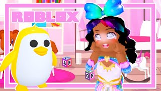 You Wont Believe How I Got This Golden Penguin! (Roblox Adopt Me Roleplay Story)