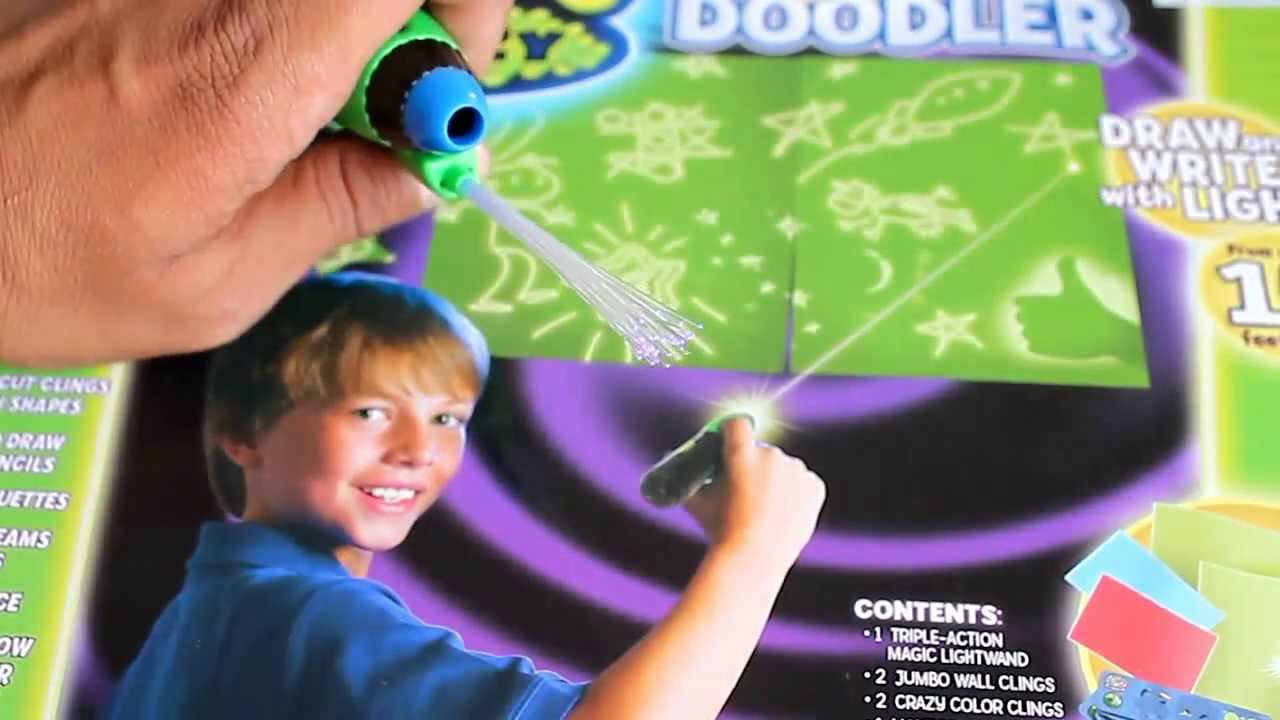 Glow Crazy Distance Doodler Toy - Draw and Write with Light | Kids' Toys