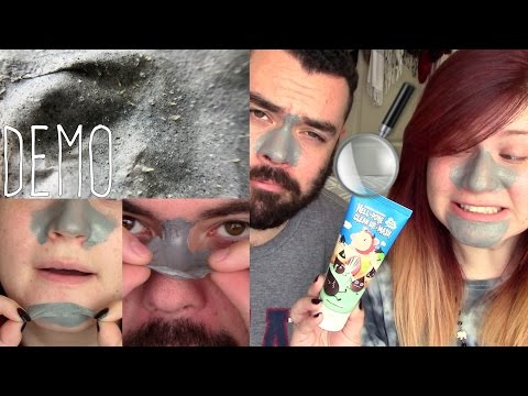 HELL-PORE CLEAN UP NOSE MASK DEMO & REVIEW