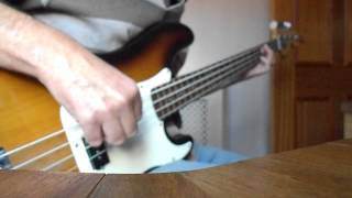 ACDC   Shot down in flames bass cover