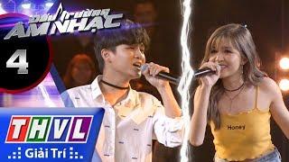THVL | Đấu trường âm nhạc - Tập 4[8]: Sao Anh Nỡ Đành Quên - Hồng Vịnh, Thái Ngân