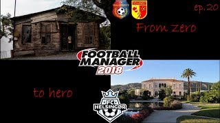 From zero to hero Episode 20 / FC Helsingør / Football Manager 2018 (CZ)