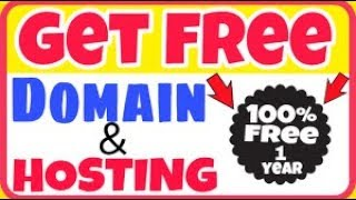 HOW TO GET FREE DOMAIN NAME FOR 1 YEAR.  [.COM, .NET, .ORG, .ME and almost all ]
