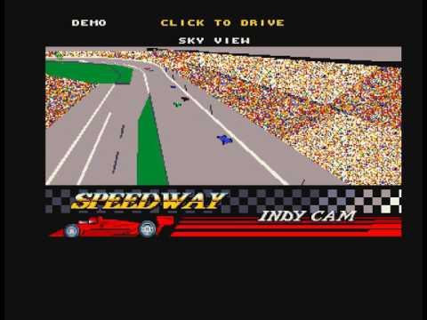 Indianapolis 500 Amiga game theme and demo mode