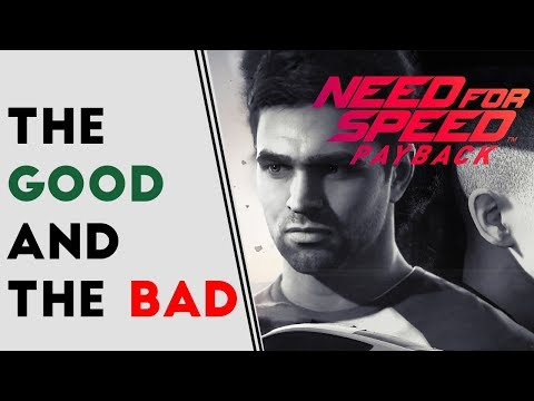 Need For Speed Payback: The Good and The Bad - Food For Thought