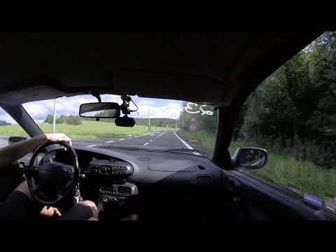 Mazda Xedos 6 V6 (2.0 KF) Onboard   GoPro POV   Cruising #1