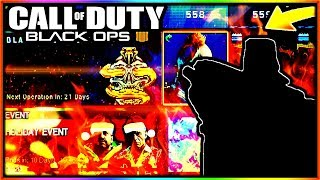 *NEW* BLACK OPS 4 HOLIDAY EVENT + NEW UPDATE! - BLACK OPS 4 DLC CAMOS, WEAPONS AND MORE! (BO4)