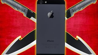 EXPERIMENT - MACHETE vs IPHONE   Wird es überleben?