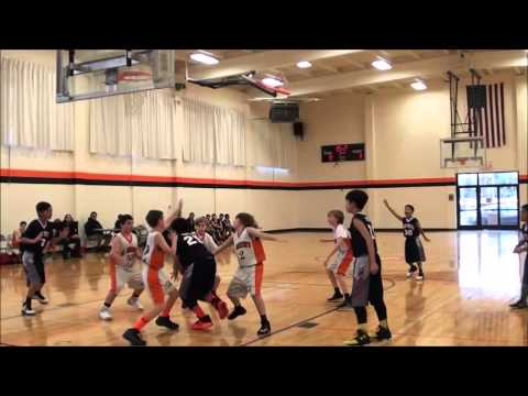 St. Victor School vs. St. Martin of Tours Basketball Game - 6th Grade Boys (Team C) - Feb. 4, 2016