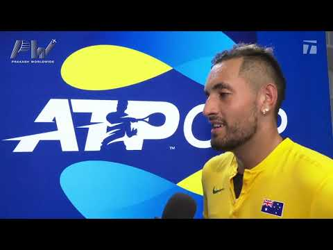 Nick Kyrgios: 2020 ATP Cup Round Robin Win Tennis Channel Interview
