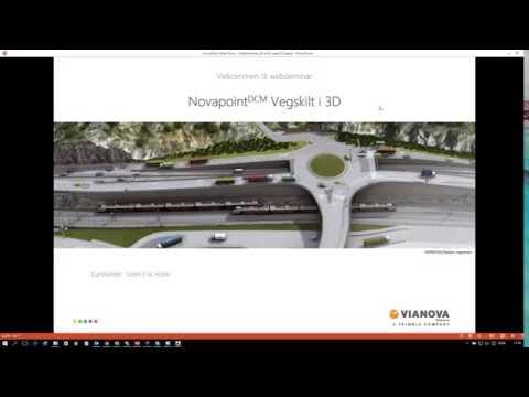 Novapoint Vegskilt | Skilt i 3D
