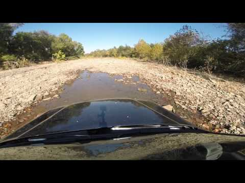 Honda crv -river bed adventure