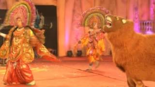 itkhori mahotsav chatra chau paika and laser show