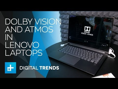 Lenovo Features Dolby Vision and Atmos - Hands On at IFA 2018