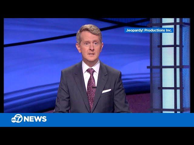\'Jeopardy!\' guest host Ken Jennings pays emotional tribute to Alex Trebek