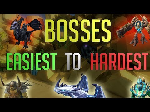 Runescape 3 - Bosses Ranked Easiest To Hardest