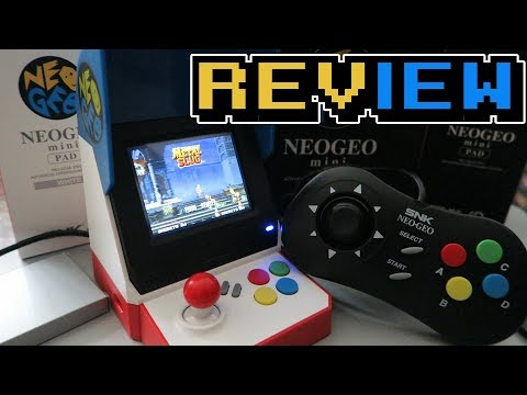 NEO GEO MINI REVIEW Y COMPARATIVA ESPAÑOL  CRAKER