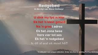 Redgebed - ProTrax Karaoke Demo