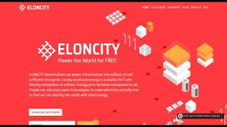 Обзор ICO  Eloncity  - Энергия мира Бесплатно