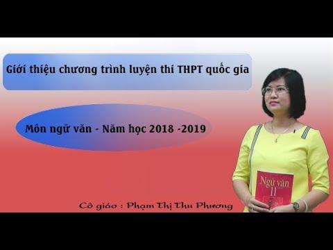 Luyện thi THPT QG 2019 – Môn Ngữ Văn – Cô Phạm Thị Thu Phương