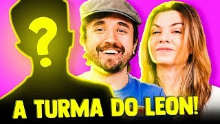 A TURMA DO LEON (nos EUA!)