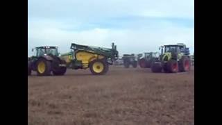 AGRO SHOW 2016 Bednary Pokazy Polowe Opryskiwacze