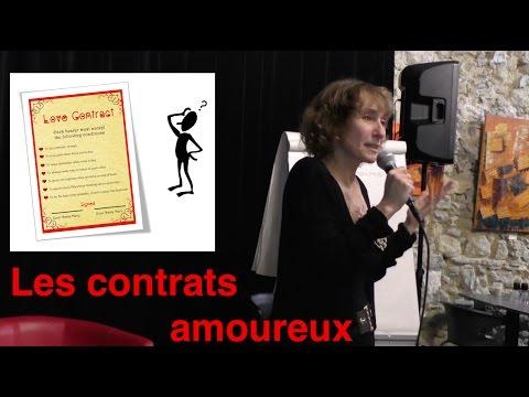 Les contrats amoureux