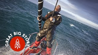 Across the Ocean in a Work Week: Shattering the Transatlantic Sailing Record thumbnail