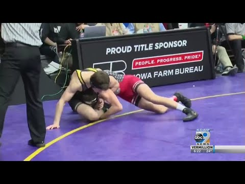 Iowa State Wrestling 3A And 2A First Round Results And Highlights - 2/20/2020
