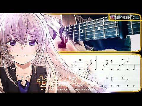 [TAB + TUTORIAL] SHICHISEI NO SUBARU - 360° HOSHI NO ORCHESTRA Fingerstyle Guitar