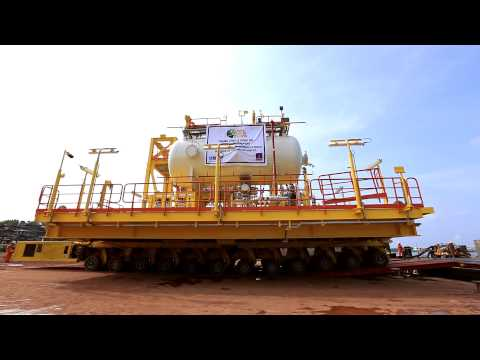 FPSO Project - Moving modules by barge