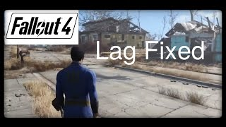 How to fix graphic lags low fps in Fallout 4 for pc tutorial