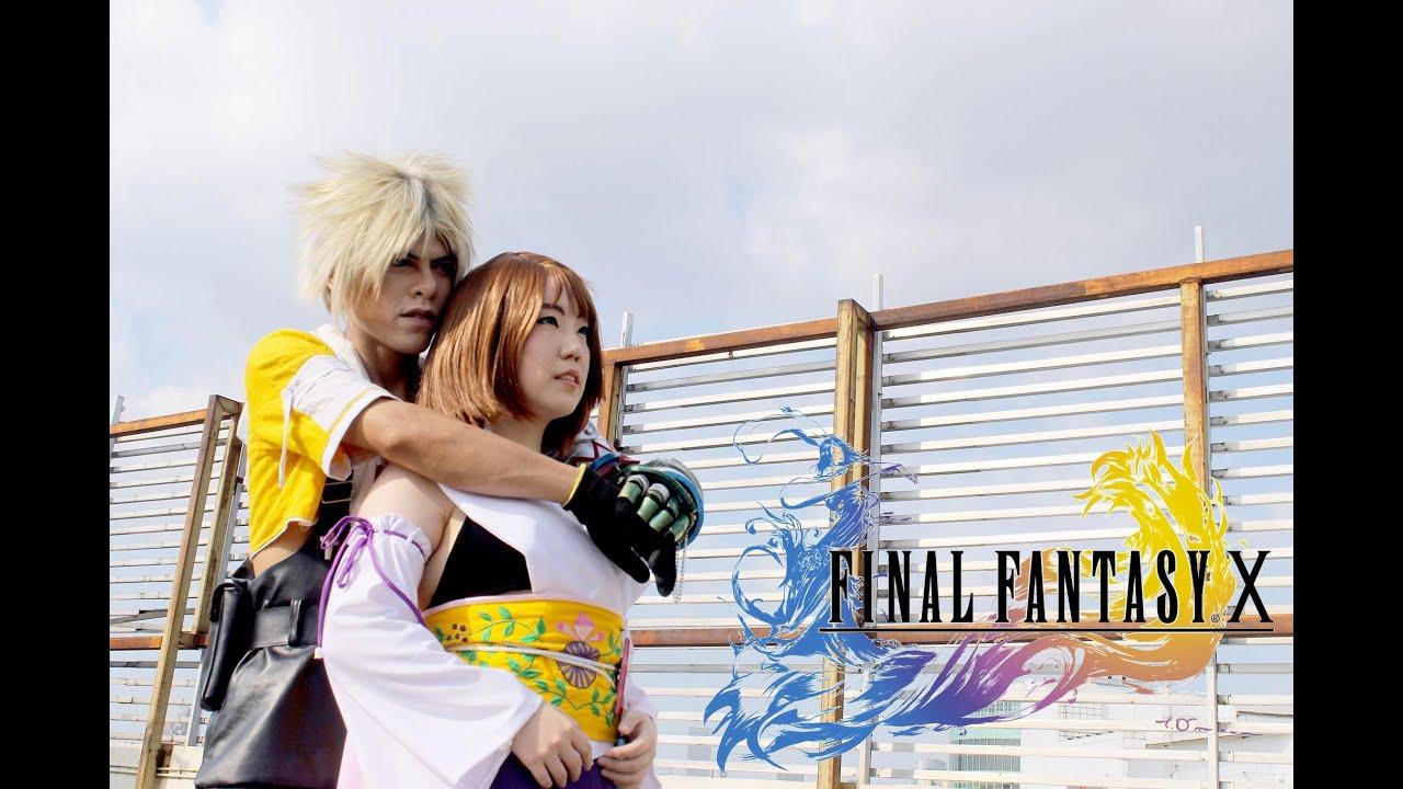 Final fantasy x yuna cosplay