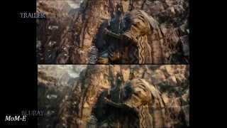 The Hobbit: The Desolation Of Smaug - Comparison Between Trailers And Blueray Ed